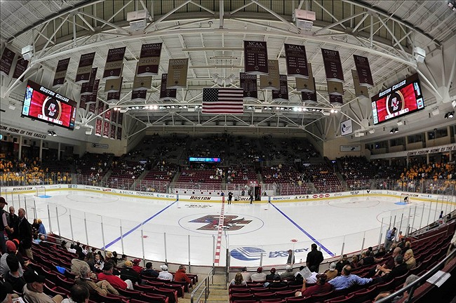 Hockey East: Did BC's Sweep Of UNH Turn The Tide?